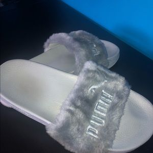 Fenty Puma Slides (Gray)